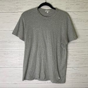James Perse oversized grey tee
